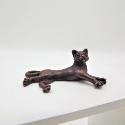 Miniature Resting Cat
