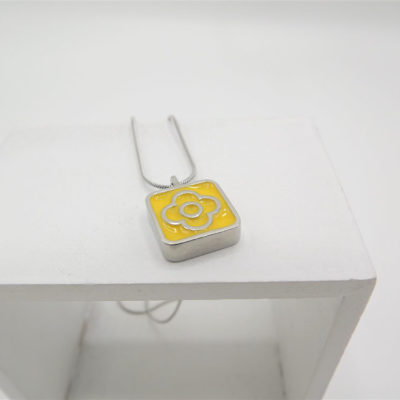 Blodyn Yellow Pendant by Koa