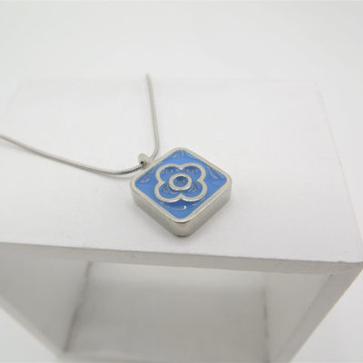 Blodyn Blue Pendant by Koa