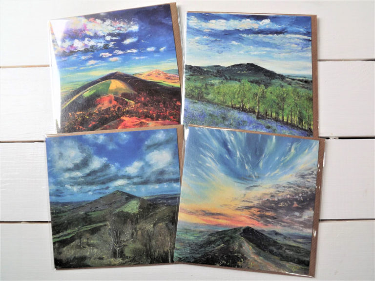 Malvern Hills Greeting Cards