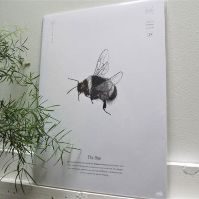 Bee Print by Creature Candy