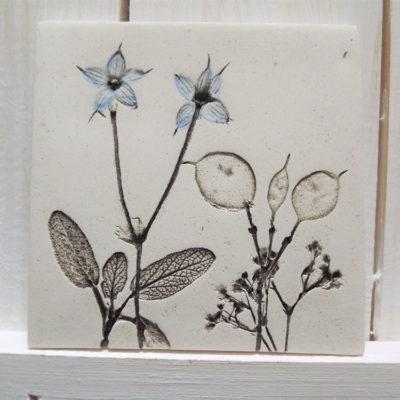 Blue Honesty Ellul Ceramic Tile