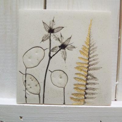 Gold Honesty Ellul Ceramic Tile