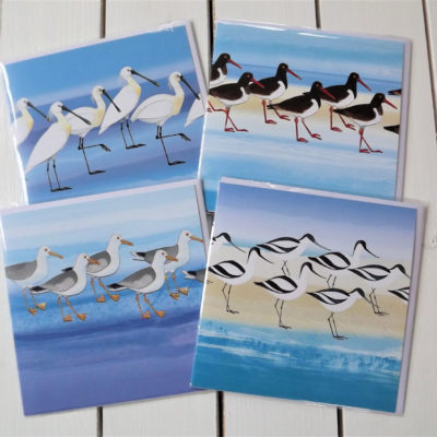 'Sea Birds' Greeting Cards