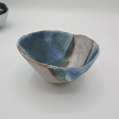 Medium Ceramic Landscape Bowl by Kirsti Hannah Brown