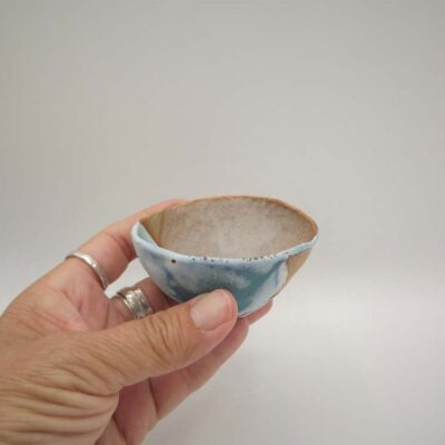 Small Ceramic Landscape Bowl by Kirsti Hannah Brown