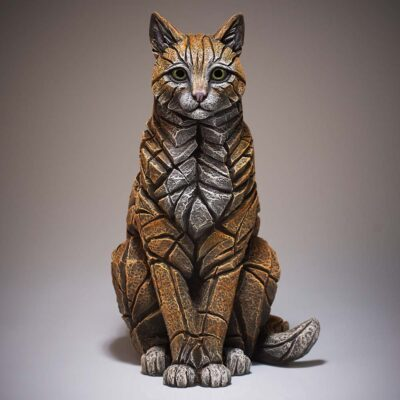 Ginger Sitting Cat by Matt Buckley