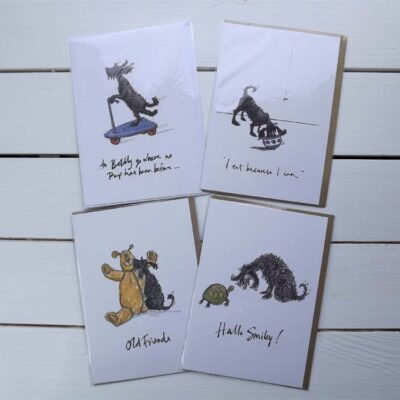 'I Eat Because I Can' Cards by Sam Toft.