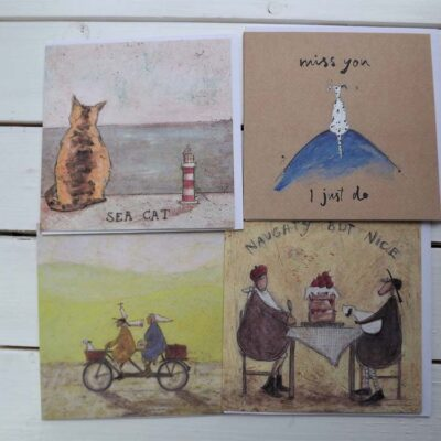 'Naughty but Nice' Cards by Sam Toft.