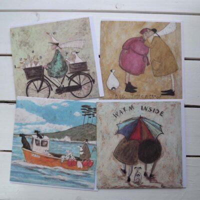 'Warm Inside' Cards by Sam Toft.