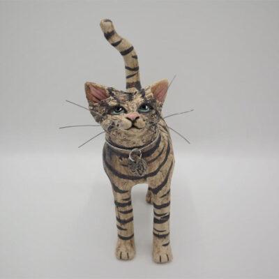 Emily Stracey Ceramic Cats