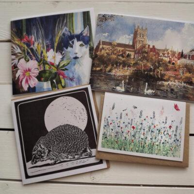 Greetings cards set 1