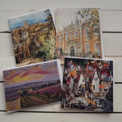 Greetings cards set 2
