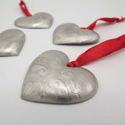 Heart token by quirky metals